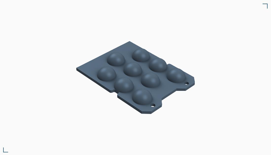 Płytka montażowa z wypustami – SPK