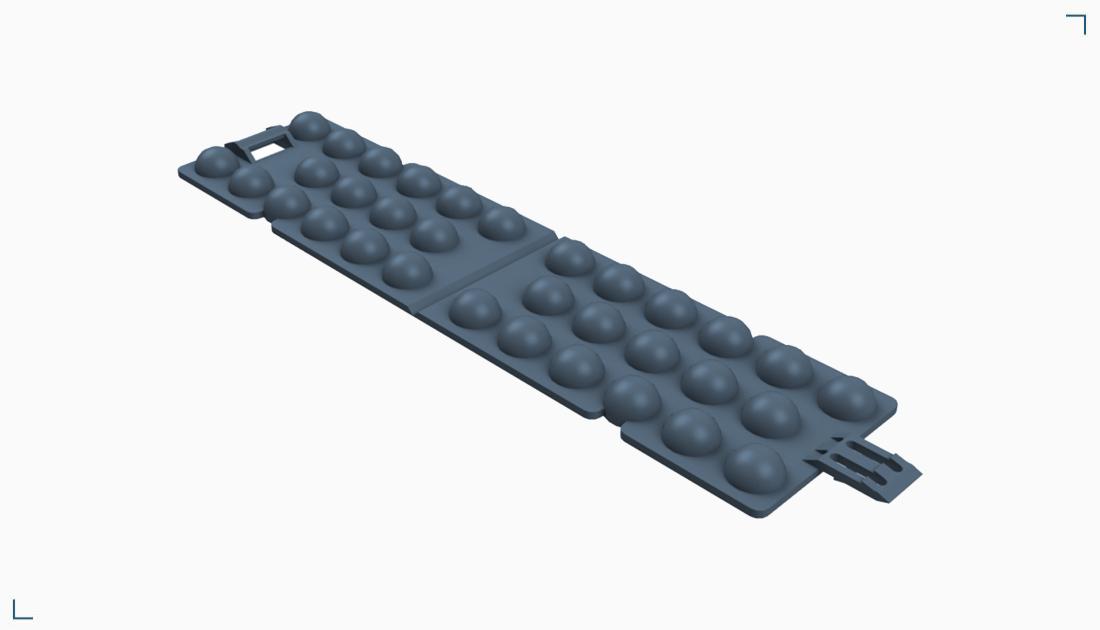 Płytka montażowa z wypustami – SPS