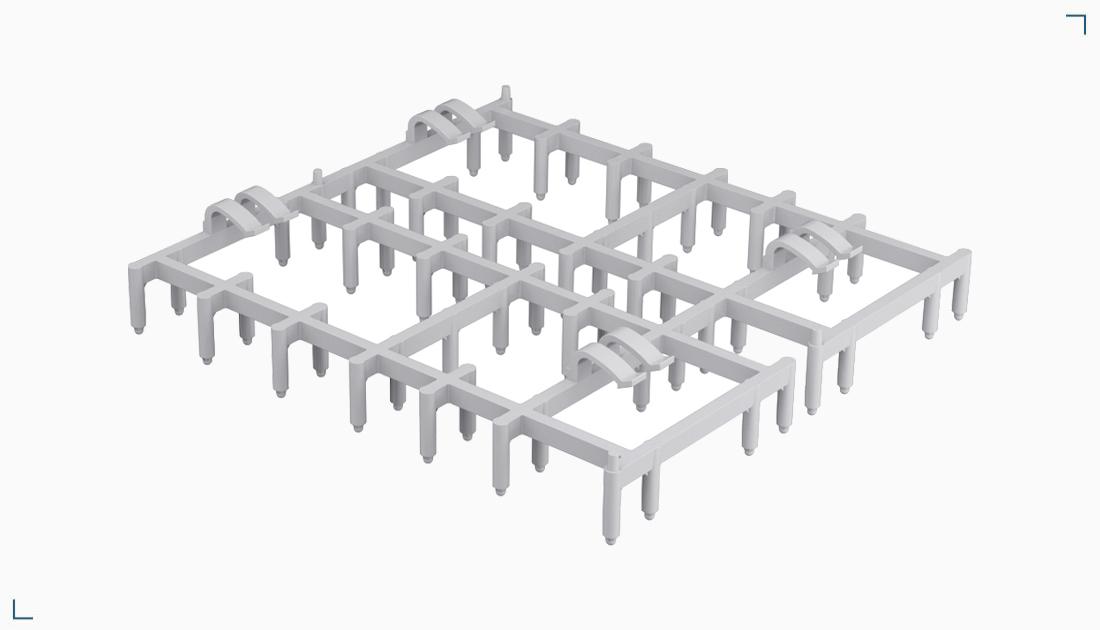Podkładka plastikowa do prefabrykacji – RES DH