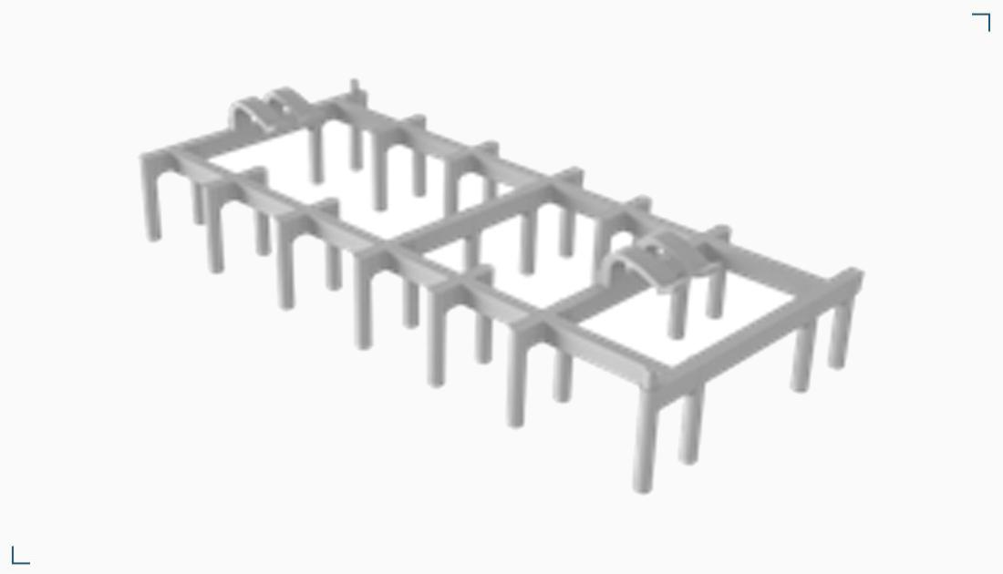 Podkładka plastikowa do prefabrykacji – RES HR